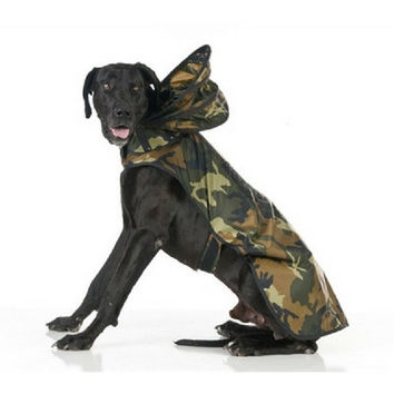 Woodlands Camouflage Raincoat