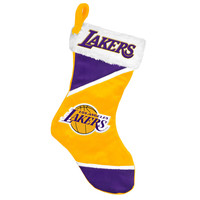 Los Angeles Lakers Holiday Stocking - Colorblock 2014