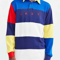Lazy Oaf Striped Rugby Shirt