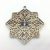 Christmas Ornament with delicate pierced design