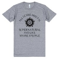 All I Care About Is Supernatural