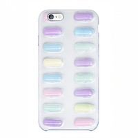 Pastel chill pills iPhone 6 case