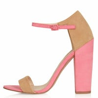 RATCHET Block Heel Sandals