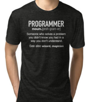 Programmer Definition Shirt - Trust Me, I'm an Programmer by funnygifts