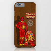 Parody Stark Droid for sale advertising iPhone & iPod Case by Greenlight8