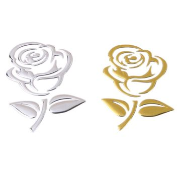 3D Rose Decal