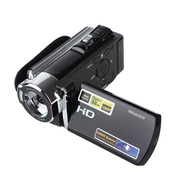 HDV-604P Full HD 1080p Digital Video Camera Recorder DVR 20MP Portable Camcorder with 3'' TFT LCD 16x ZOOM, Free Shipping