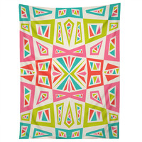 Andi Bird Checkmate Kaleidoscope Tapestry