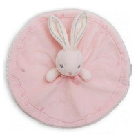 Cute Rabbit Plush Comfort Baby Toy Pink and White Kids Sleep Toy New Born Baby Rattle