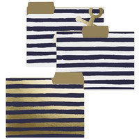 Navy Anchor File Folders
