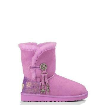 DCCK8X2 UGG? Official | Kids' Bailey Charm Footwear |