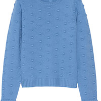 Tibi - Bobble-knit merino wool sweater