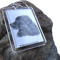 Newfoundland Dog Keychain Pet Lover Gifts Accessories