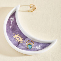 Lay It On the Lune Jewelry Dish | Mod Retro Vintage Decor Accessories | ModCloth.com