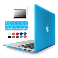 Laptop Sleeve Case For Macbook air 11 13 Pro 13 15 Pro Retina 12 13 Crystal PC Hard Notebook Bag Cover For Macbook pro Case