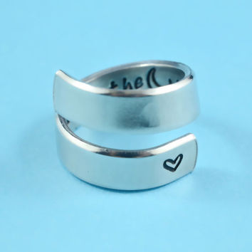 Hand Stamped Rings and Bracelets, Personalized Gifts