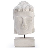 Mango Wood Buddha Bust | Objects of Art | Decorative Accessories | Home Accents | Decor | Z Gallerie