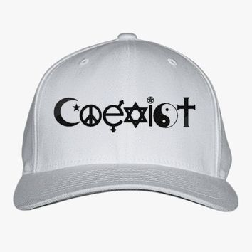 Coexist Embroidered Baseball Cap