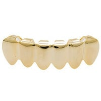 The Gold Bottom Grillz