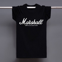 Good Quality EMINEM The Marshall Mathers LP T Shirts Men Short Sleeve O Neck T-shirts Top Tees New Cotton Leisure Tshirts