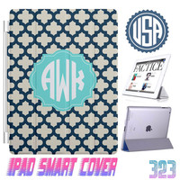 Lattice Monogram @ IPad Air Smart Cover , IPad Mini Smart Cover , IPad 4 Smart Cover , IPad 3 2 IPhone 5 5S cover iphone 4 4S Case Gift #323