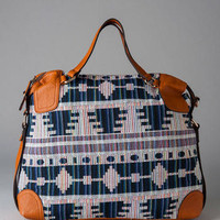 LARAMIE TRIBAL SATCHEL