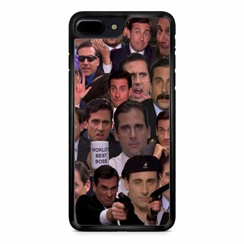Michael Scott Collage 1 iPhone 8 Plus Case