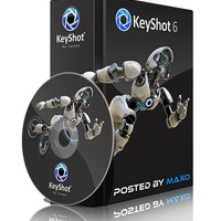 Luxion Keyshot 6.1 Crack and Serial key Free Download