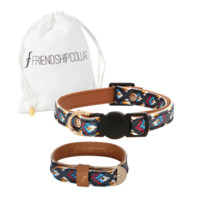 Caztec Print Cat Collar