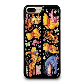 WINNIE THE POOH AND FRIENDS iPhone 4/4S 5/5S/SE 5C 6/6S 7 8 Plus X Case