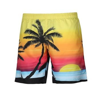 Men Beach Shorts Swimwear Swim Shorts Trunks Swimming Short Pants Swimsuits Men Sports Running Surfing Shorts
