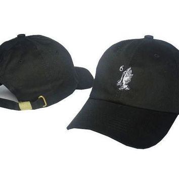 Black Drake 6 God Baseball Cap