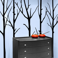 Vinyl Wall Decal Sticker Huge Bare Trees #MCrespo115