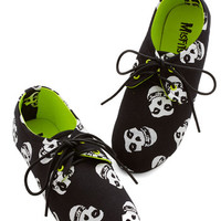 ModCloth Music If the Shoe Misfits Flat
