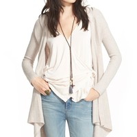 Free People 'Sloane' Hooded Wrap Cardigan | Nordstrom