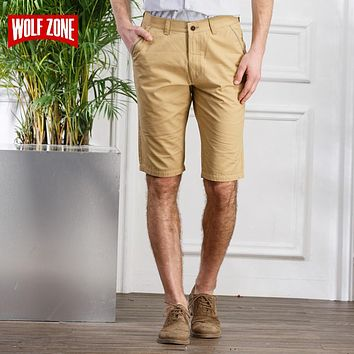 Men Bermuda Short Clothing Off Summer Mid Casual Knee Length
