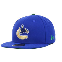 Vancouver Canucks NHL Metallic Pop 59FIFTY Cap