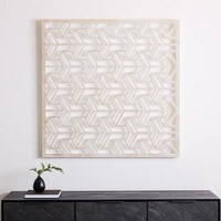 Lattice Wall Art - Square