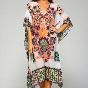 Cover Up Caftan