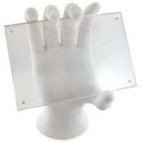 Hand Photo Holder - White