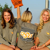 Long Sleeve OSU Multimedia-Comfort Colors