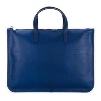 LOEWE   Leather Briefcase   brownsfashion.com   The Finest Edit of Luxury Fashion   Clothes, Shoes, Bags and Accessories for Men & Women