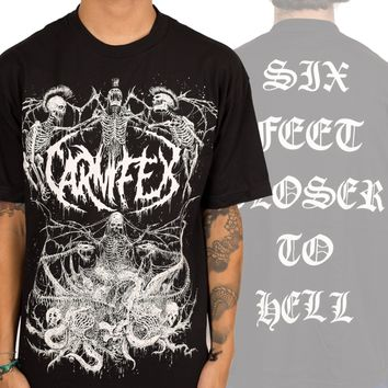 "Carnifex ""Six Feet Closer To Hell"" T-Shirt"
