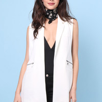 Decker Luna Vest - Cream