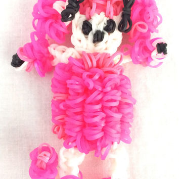 Poodle Rainbow Loom Handmade Rubber Band Party Favors