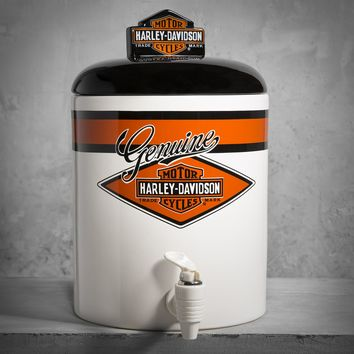Ceramic Beverage Dispenser | Grilling & Entertaining | Official Harley-Davidson Online Store