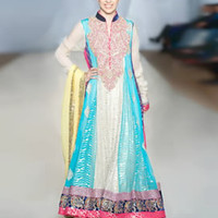 Designer Rizwan Ahmed Party and Evening Wear Anarkali Churidar Suits 2013 New York City NY