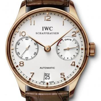 IWC - Portuguese Automatic - Red Gold