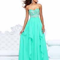 WowDresses — Alluring A-line Sweetheart Floor Length Prom Dress