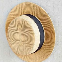 Grosgrain Mini Boater Hat